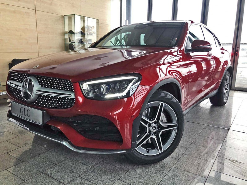 Mercedes-Benz GLC 220 Coupe d 4M AMG SPORT Distronic 360° full
